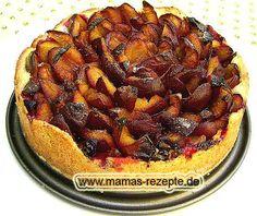 Rezept Zwetschgenkuchen mit Mürbteigboden auf Mamas Rezepte Homepage