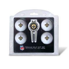 New Orleans Saints Golf Balls & Divot Tool Set