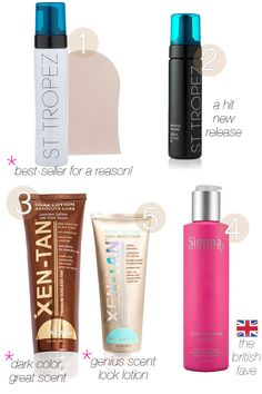 THE BEST: Self Tanners — Pretty Shiny Sparkly