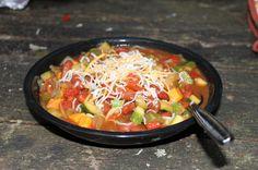 Camp Chili, veggie style!