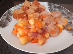 COMIDA DIA 02/04/2021 Fruit Salad, Cantaloupe, Food, Sauteed Carrots, Pork Tenderloins, Stir Fry, Recipes, Homemade, Fruit Salads
