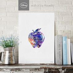 Snow White's Apple Disney Wall Art - Poster Α3