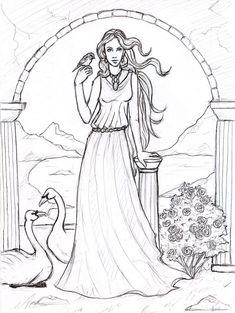 Aphrodite - Goddess of Love by Sjostrand.deviantart.com on @deviantART