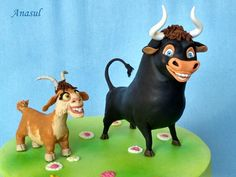 býček Ferdinand a kozička