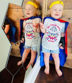 we are what we believe we are... #ameliaweiss, #lucillecraig, #becketteasterday, #aylazimmerman, #spiritweek, #superheroday, #spiderwoman, #batgirl, #superman, #wonderwoman.