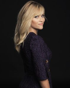 purple dolce & gabbana #dress :: Reece Witherspoon for Wild at TIFF 2014