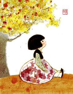 Hanbok Illustration | Korea art