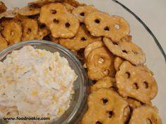 Beer Cheese Pretzel Dip | foodrookie.com