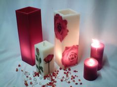 Candles decoration
