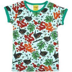 Duns Sweden Blue Green Rowanberry T-Shirt