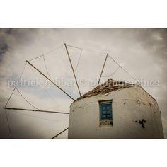 Greek Windmill Photo Greece Charm Photo Fine Art Photography European... (£7.62) ❤ liked on Polyvore featuring home, home decor, wall art, greek, island home decor, greek home decor, european home decor, island wall art and photography wall art
