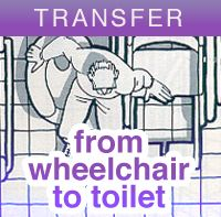 Transferring an individual from a wheelchair to toilet A caregiver must be present for this type of transfer. This guide includes the...