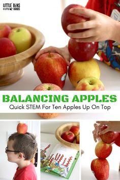 Apple STEM Activities for Kids