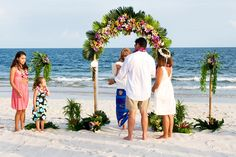 Gulf Shores beach wedding packages wedding officiant minister packages beach wedding arch set up sand ceremony photography Gulf Shores, fort Morgan Alabama Beach Wedding Packages, Beach Weddings, Destination Weddings, Gulf Shores Beach, Wedding In Puerto Rico, British Travel, Canadian Travel, Beach Wedding Flowers, Wedding Beach