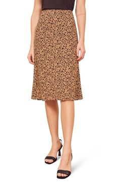 REFORMATION MIA PRINT SKIRT. #reformation #cloth