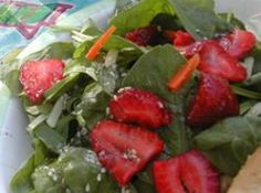 Recipes - Salad - Strawberry Spinach Salad - Kraft First Taste Canada