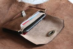 Unisex Leather Wallets  Mens Wallet  Womens Bag by perimelodi, $49.90
