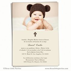 Spanish Baptism Invitation Printable Invitacion De Bautizo
