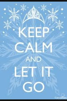 Let it go...let it goooooo! I may be slightly obsessed with frozen now..