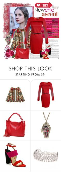 """""""LoveNewChic #29"""" by carola-corana ❤ liked on Polyvore featuring Dolce&Gabbana, Paul Andrew and lovenewchic"""