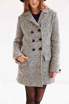 Edith & Ella Mod Pea Coat - Urban Outfitters