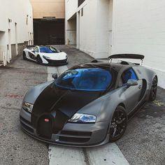 White McLaren P1 and grey Bugatti For more, follow my blog: that-gud-lyfe