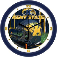 Kent State Golden Flashes - Football Helmet Wall Clock