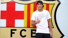 Neymar's presentation at Camp Nou.