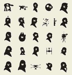 Sci-Fi Typography Charts