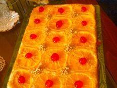 Αφράτο πορτοκαλένιο κέικ!!! συνταγή από Κλεοπάτρα Καραγιαννάκη - Cookpad Pineapple, Baking, Fruit, Food, Patisserie, Pine Apple, Bakken, Hoods, Bread