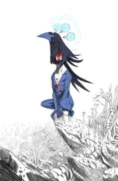Matias Basla - crow god