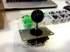 Just got the stuff to build my custom Arcade Fightstick. Sanwa stick and Semitsu Pushbuttons