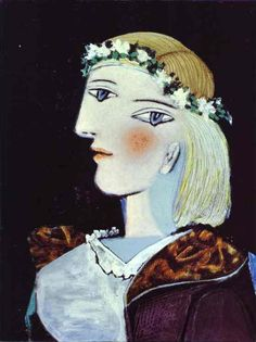 marie therese walter by pablo picasso   1937 Pablo Picasso (Spanish artist, 1881–1973) Marie-Therese Walter.