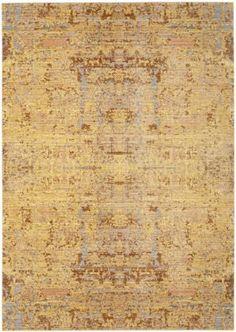 Safavieh Mystique Mys971c Gold - Multi Area Rug