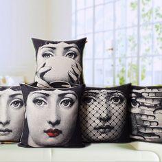 Kinds of Fornasetti Pillow - http://homegood.kintakes.com/kinds-of-fornasetti-pillow/