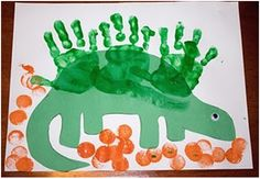 Dinosaur Crafts and Books for Preschoolers and Kindergarteners Dinosaurs Preschool, Dinosaur Activities, Dinosaur Crafts, Preschool Books, Preschool Activities, Dinosaur Art, Dino Craft, Dinosaur Pics, Dinosaur Projects