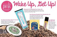 Wake up with Perfectly Posh pampering! www.perfectlyposh.com/lavanda  Naturally Based products that give that extra pep in the morning!