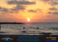 O pôr do sol na praia de Tel Aviv deve ficar ainda mais atrativo se você estiver por lá, não?