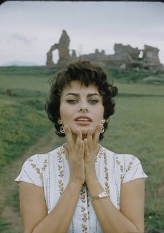 Sophia Loren by Loomis Dean for LIFE Magazine