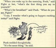 Resultado de imagem para the tao of pooh by benjamin hoff quotes