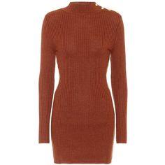 Wool minidress (€865) via Polyvore featuring dresses
