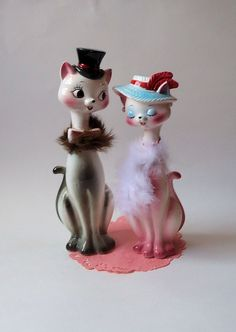 ceramic cats pair- I need to find these!
