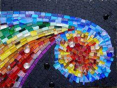 'Cosmic dust' mosaic