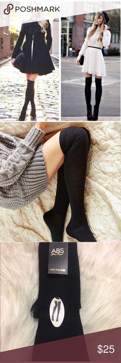 ABS OTK Socks! Fits size 4-10. 98% polyester, 2% spandex. 🚫 trades. ABS Allen Schwartz Accessories Hosiery & Socks