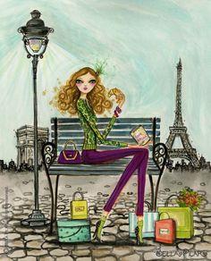 Paris, Bella Pilar illustration