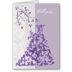 Bridesmaid, Will you be my Bridesmaid? Cards