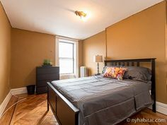 Clean and classic in soothing neutrals, this #roommate #share #rental #apartment in #Brooklyn is the perfect setting for your perfect stay. http://www.nyhabitat.com/new-york-apartment/roommate-share/16160