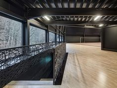 Badminton Hall Langnau by Jan Henrik Hansen Architects