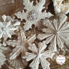 Silver flake cookies by Teri Pringle Wood