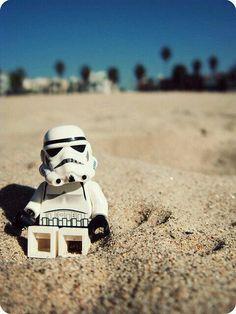 Beach Trooper  #lego #starwars